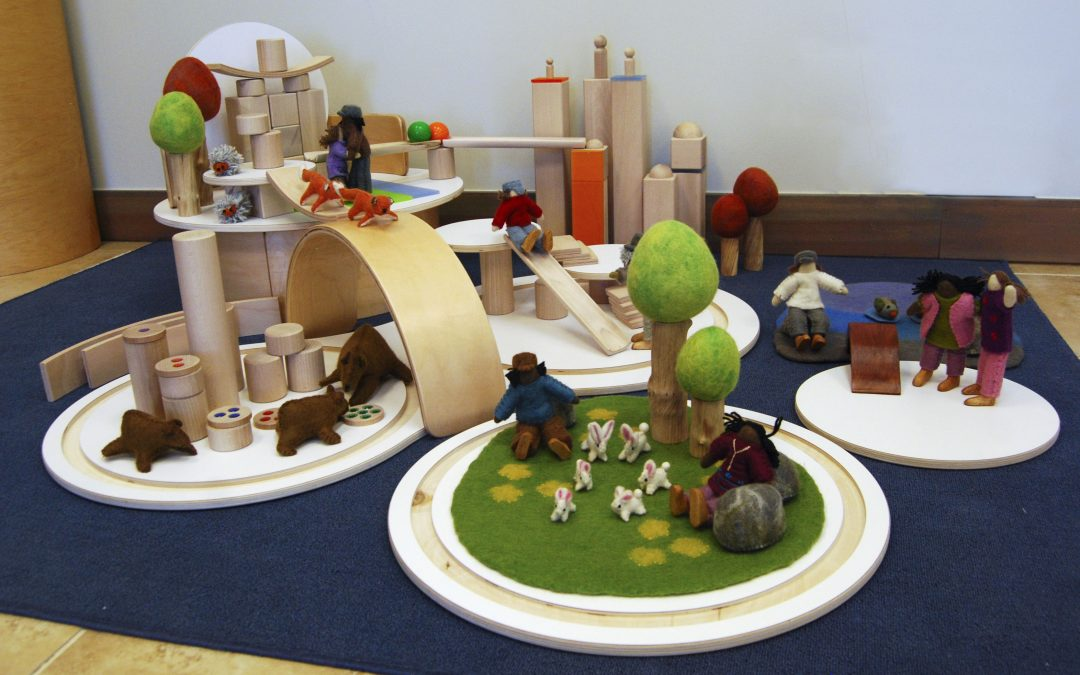 Story Driven Block Play with the Kodo Playscape Platforms