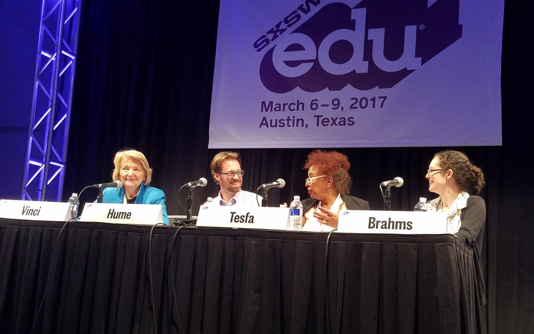 SXSWedu: Fostering the Maker Movement in Early Childhood Education