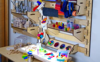 Displaying and Organizing Loose Parts